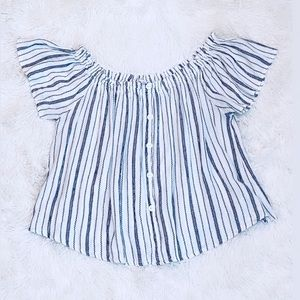 DAILY SPECIAL off the shoulder blouse